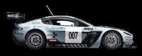 Blue Aston Martin Vantage GT3 Car PNG