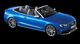 Blue Audi Car PNG