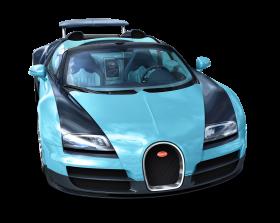 Blue Bugatti Veyron 16.4 Grand Sport Vitesse Car PNG