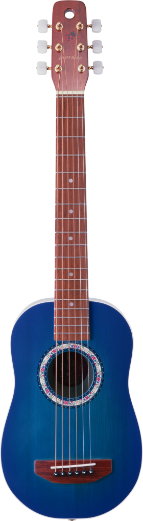 Blue Electric Guitar PNG