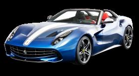 Blue Ferrari F60 America Car PNG