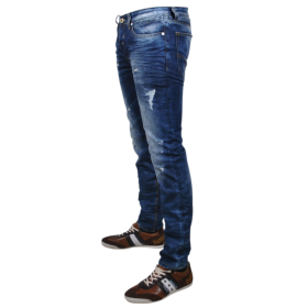 Blue Heren Jeans PNG