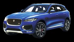 Blue Jaguar F PACE Car PNG