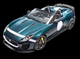 Blue Jaguar F Type Car PNG
