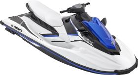 Blue Jet Ski PNG