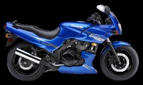 Blue Kawasaki Ninja 500R PNG