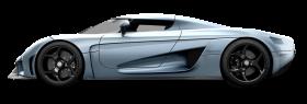 Blue Koeninsegg Regera Car PNG