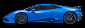 Blue Lamborghini Huracan Car PNG