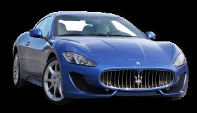 Blue Maserati GranTurismo Sport Duo Car PNG