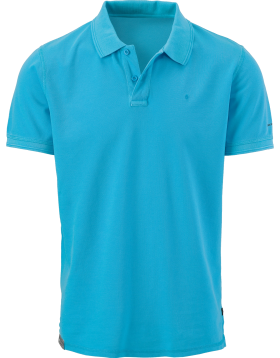 Blue Men's Polo Shirt PNG