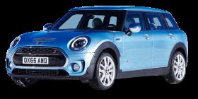 Blue Mini Clubman All4 AWD Car PNG
