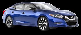 Blue Nissan Maxima Car PNG