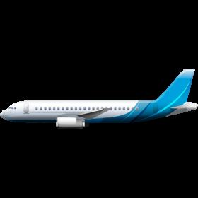 Blue Plane PNG