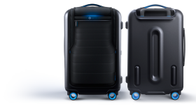 Blue Revolutionary Suitcase PNG