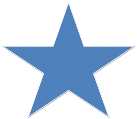 Blue Star PNG