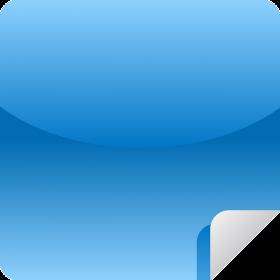 Blue Sticky Notes PNG