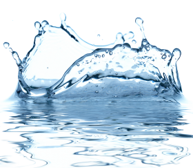 Blue Water Drop PNG