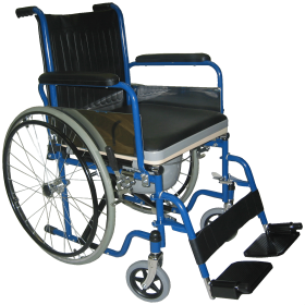 Blue Wheelchair PNG