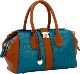 Blue Women Bag PNG