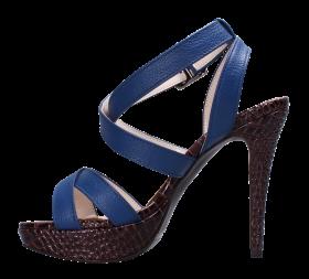Blue Women Sandal PNG