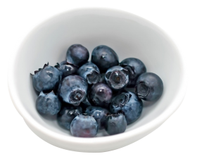 Blueberry in Cup PNG