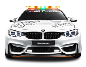 BMW M4 GTS Safety Car PNG