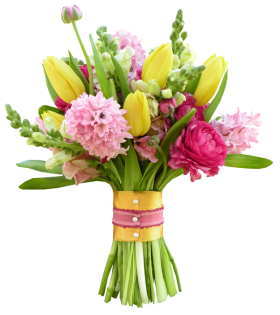 Bouquet Of Flowers PNG