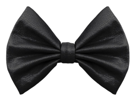Bow Tie Black PNG