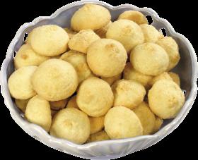 Bowl of Vanilla COokies PNG