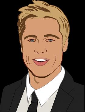 Brad Pitt PNG