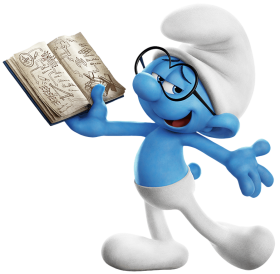 Brainy Smurf PNG