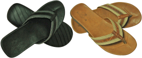 Brown Black Sandal PNG