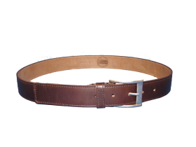 Brown Chrome Excel Belt PNG