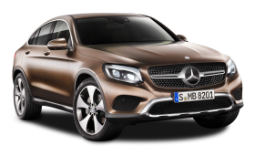 Brown Mercedes Benz GLE Coupe Car PNG
