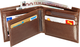 Brown Wallet PNG