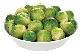 Brussel Sprouts in Bowl PNG