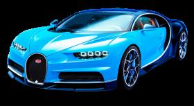 Bugatti Chiron Blue Car PNG