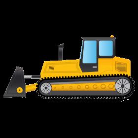 Bulldozer B PNG