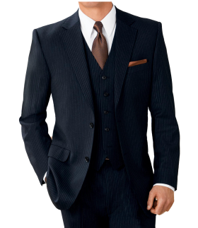Button Wool Suit PNG