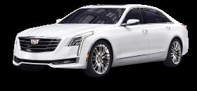 Cadillac CT6 White Car PNG