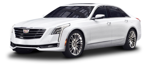 Cadillac CT6 White PNG