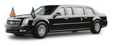 Cadillac Presidential Limousine PNG