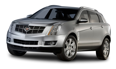 Cadillac SRX Grey Car PNG