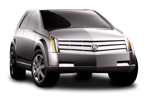 Cadillac Vizon Grey Car PNG