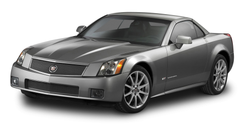 Cadillac XLR V Grey Car PNG