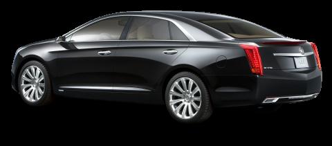 Cadillac XTS Platinum Black Luxury Car PNG