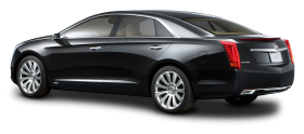 Cadillac XTS Platinum Black Luxury Car PNG