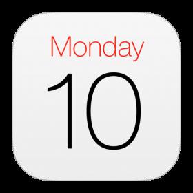 Calendar Official Icon iOS 7 PNG