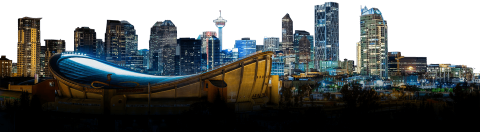 Calgary City Skyline PNG