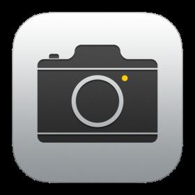 Camera Icon iOS 7 PNG